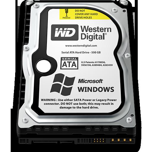 Windows Hard Drive Icon 512x512 png - Hard Drive PNG HD