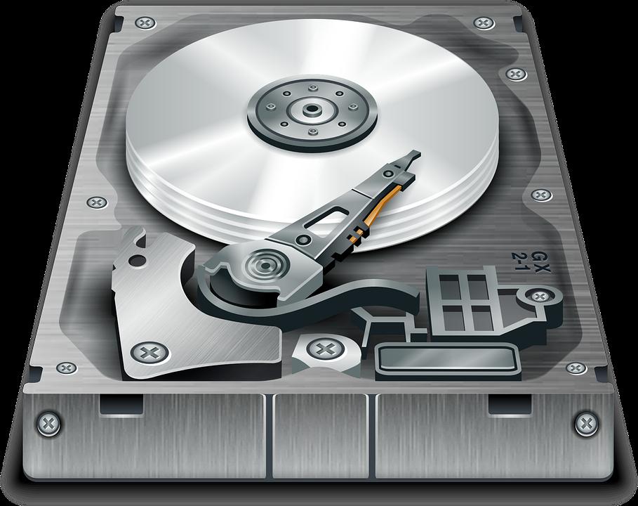 Hard, Disk, Storage, Computer, Electronics - Harddisk HD PNG