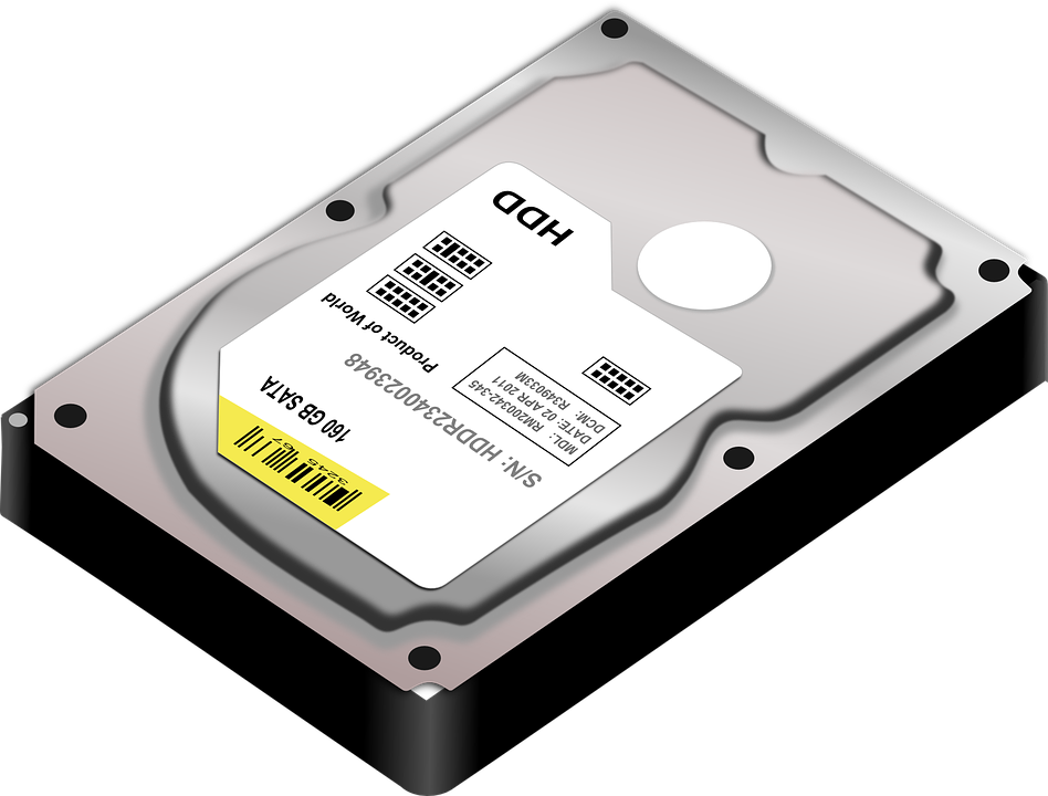 Hdd, Hard Disk Drive, Disk, Hard Disk, Data, Computer - Harddisk HD PNG