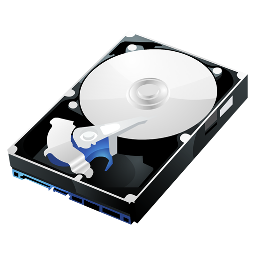 HP-HDD icon. PNG File: 512x512 pixel - Harddisk HD PNG