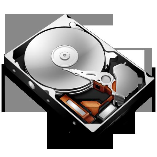 PNG ICO ICNS MORE - Harddisk HD PNG