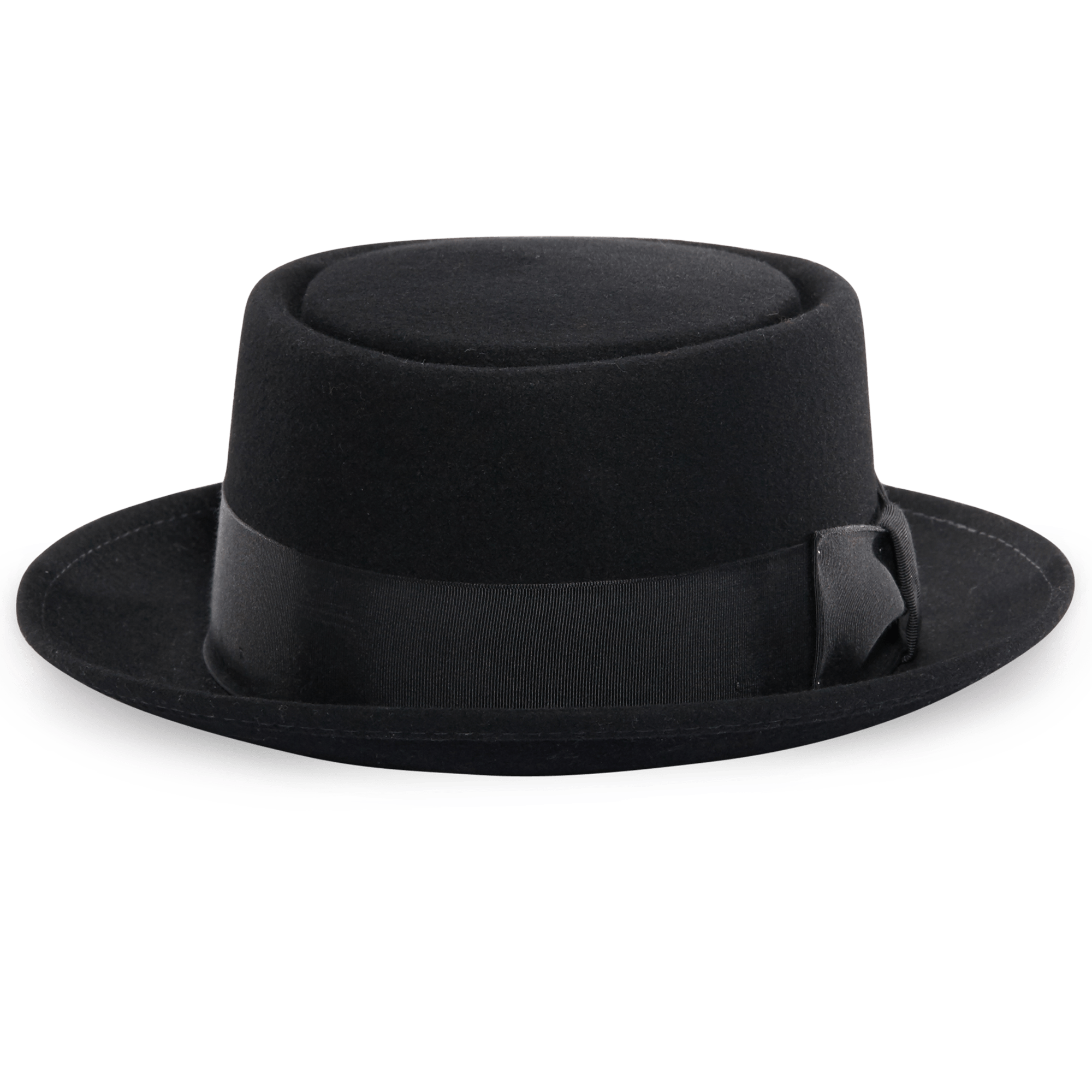 Victorian Black Hat - Hat PNG