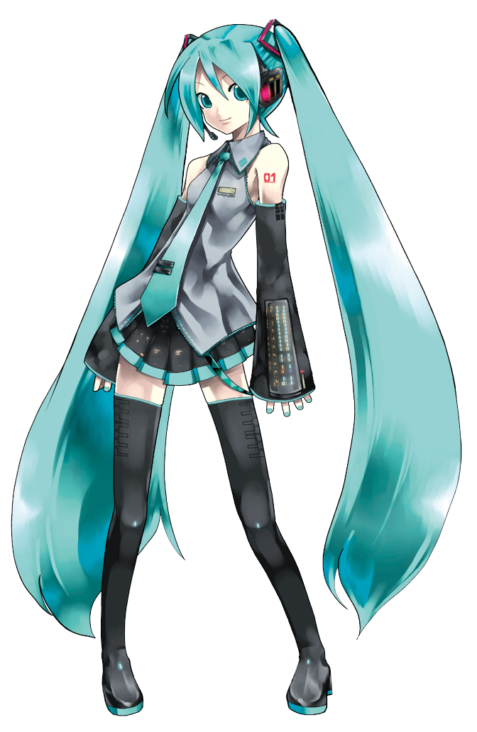 Hatsune Miku Vector by Assass