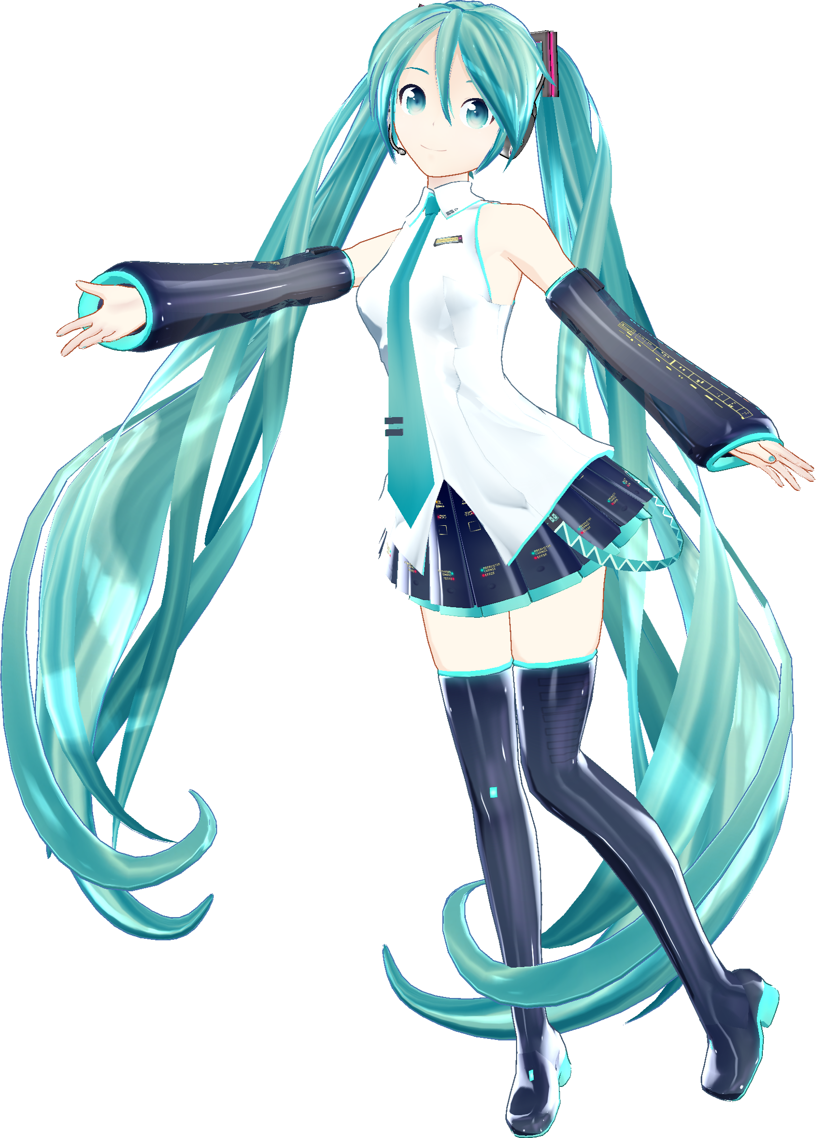 Image - Miku Hatsune V3 Mmd Help By Adan Official-d6qa66x.png | The Hunger  Games Wiki | FANDOM Powered By Wikia - Hatsune Miku PNG