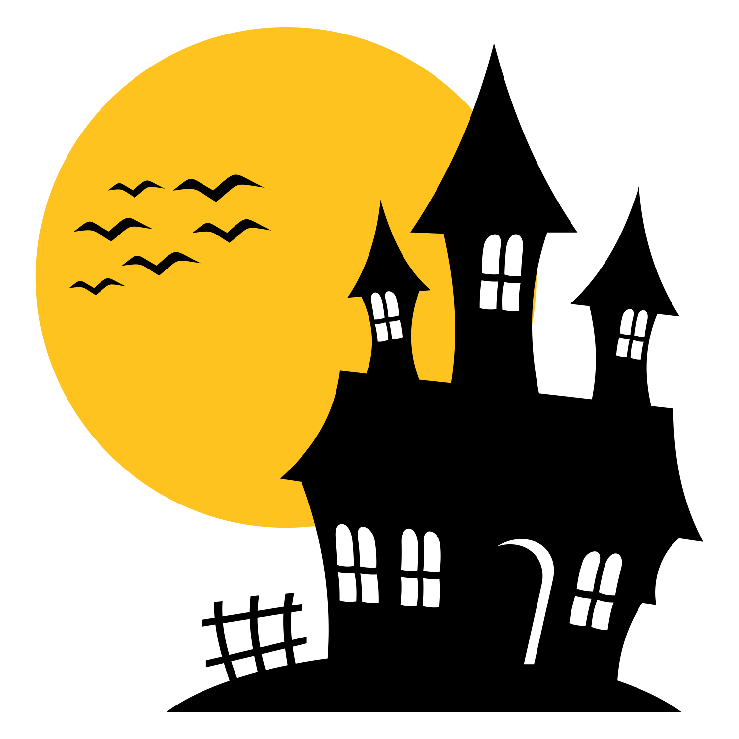 haunted mansion png transparent haunted mansion png images Happy Halloween Clip Art Halloween Border Clip Art