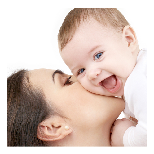 Laughiing Baby With Mother - Have A Baby PNG