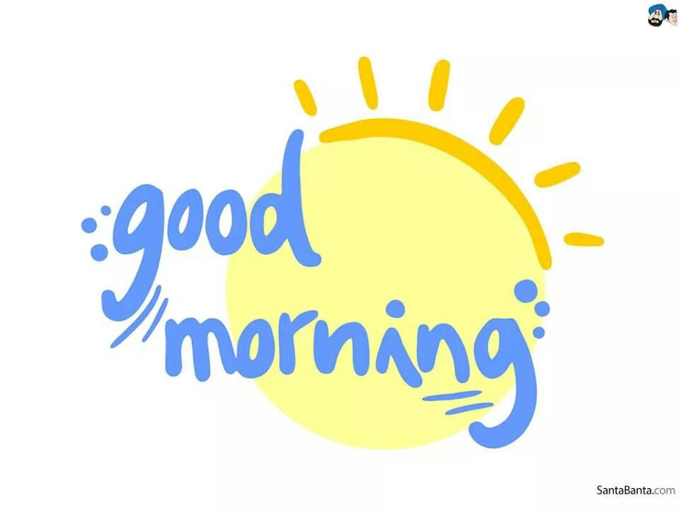 Good Morning Amigos ! Barely Woke Up At 7am Lol Jenna Woke Me Up To Eat - Have A Good Day PNG HD