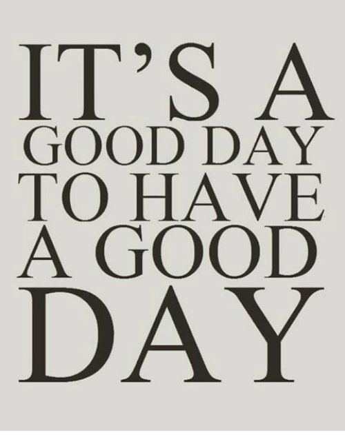 Memes, Good, And ????: ITu0027S A GOOD DAY TO HAVE A GOOD DAY - Have A Good Day PNG HD