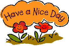 Have A Nice Day Clip Art - Have A Nice Day PNG