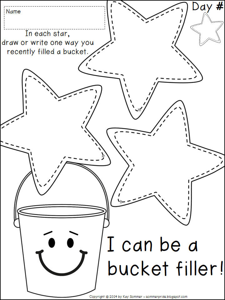 Camp Fire Heartland has the bucket filler book to go along with this. Read  it with the kids and then have them fill out this sheet to discuss how they  can PlusPng.com  - Have You Filled A Bucket Today PNG