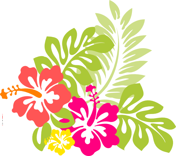 hawaiian clipart - Hawaiian Luau PNG