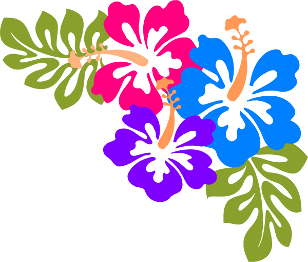 Hawaiian luau word clipart clipart kid - Hawaiian Luau PNG