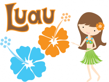 Luau sign clipart - Hawaiian Luau PNG