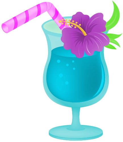 Tropical Drink png by clipartcotttage. Fiesta LuauHawaiian PlusPng.com  - Hawaiian Luau PNG