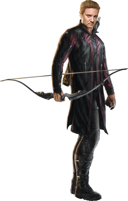 Hawkeye-AOU-Render.png - Hawkeye HD PNG