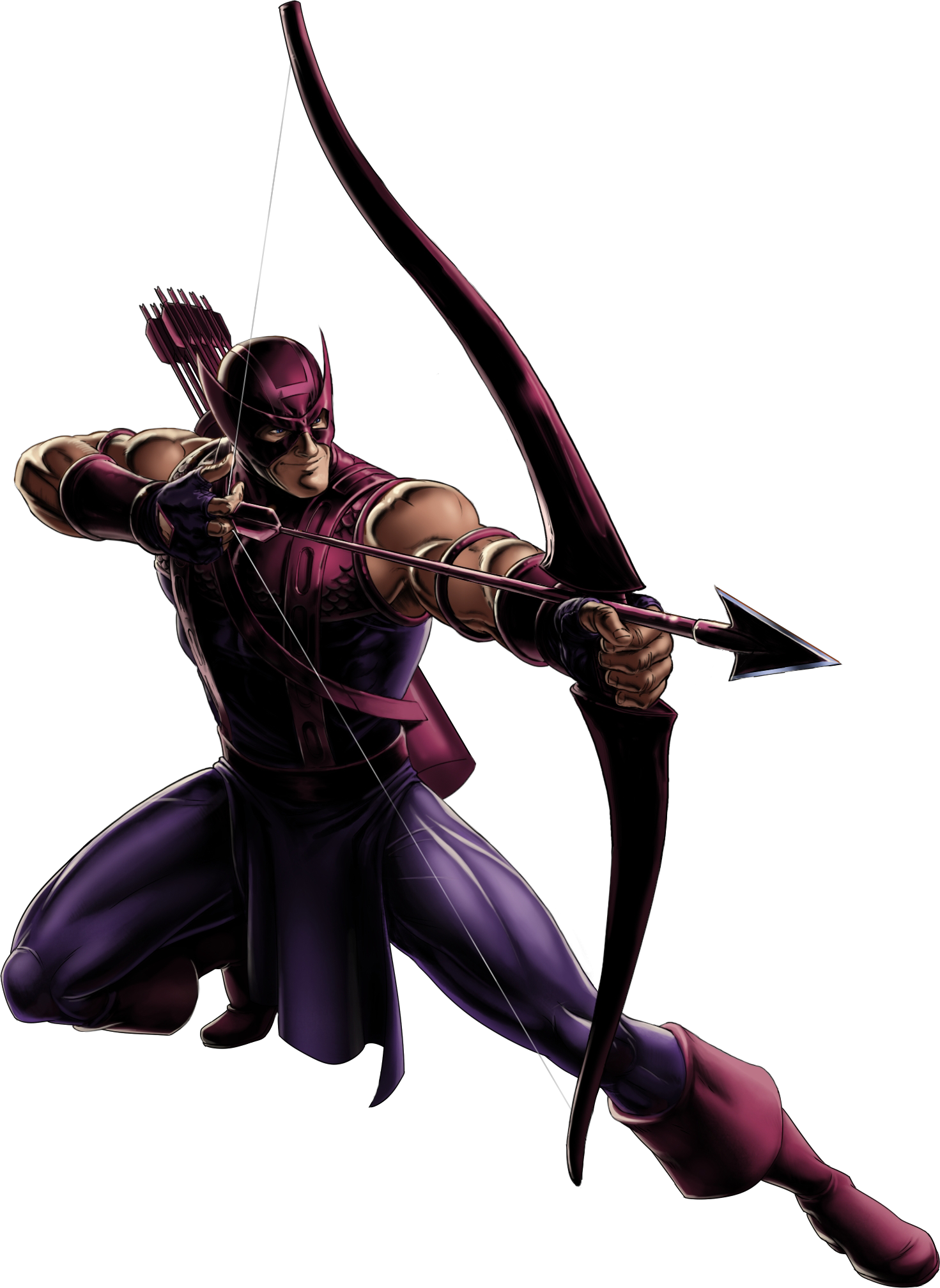 PNG File Name: Hawkeye Transparent Background - Hawkeye PNG