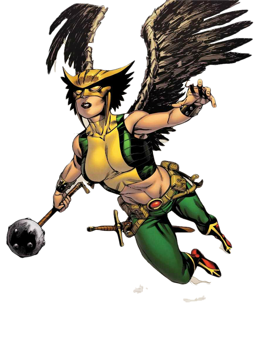 Hawkgirl PNG
