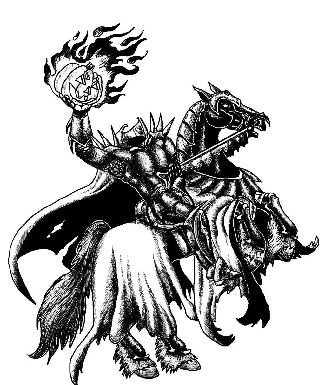 Bretonnian Headless Horseman by ladylyzar Bretonnian Headless Horseman by  ladylyzar - Headless Horseman PNG