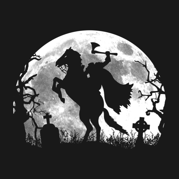Headless horseman shirt the shirt list - Headless Horseman PNG