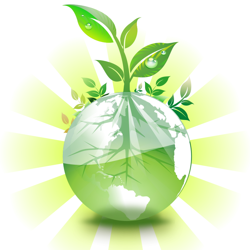 Clipart green earth.png - Healthy Environment PNG