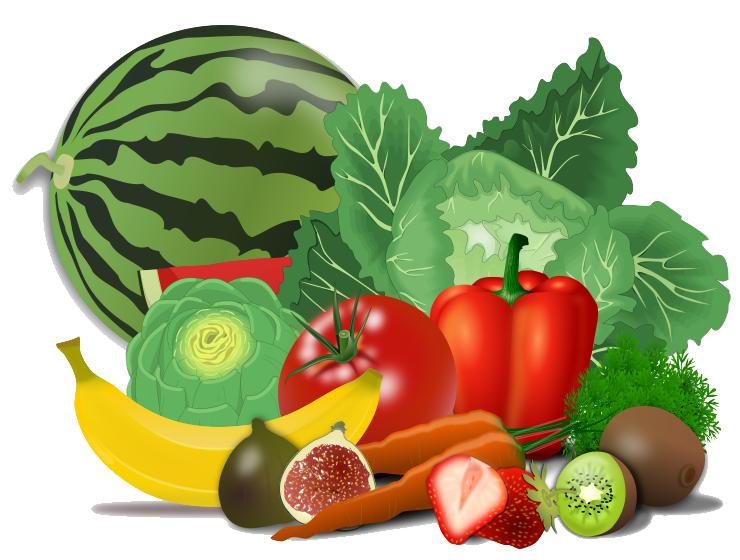 Healthy - Healthy Food PNG HD