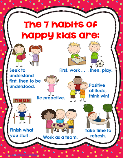 Healthy Habits For Kids PNG