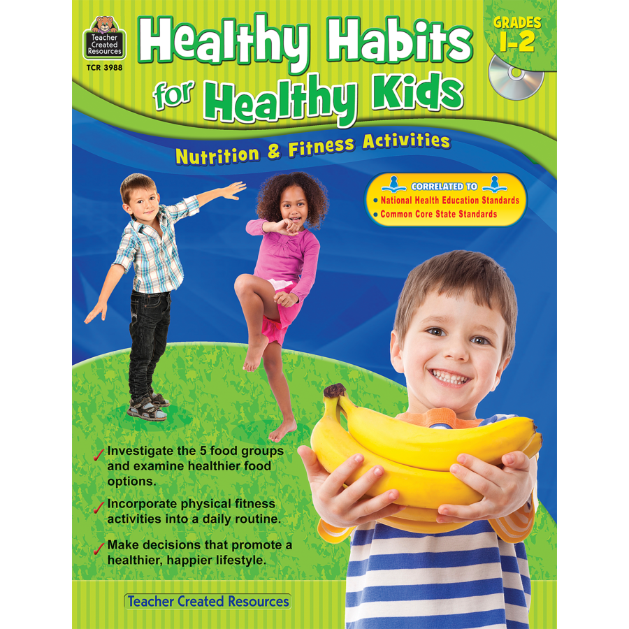 Healthy Habits For Kids PNG - 51623