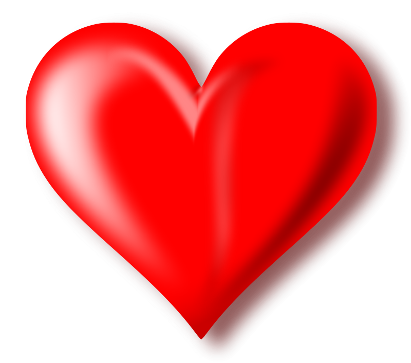 heart png clip art - Heart HD PNG