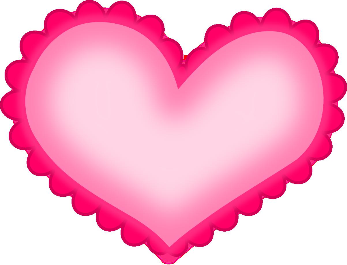 Hot Pink Heart PNG HD - Heart HD PNG