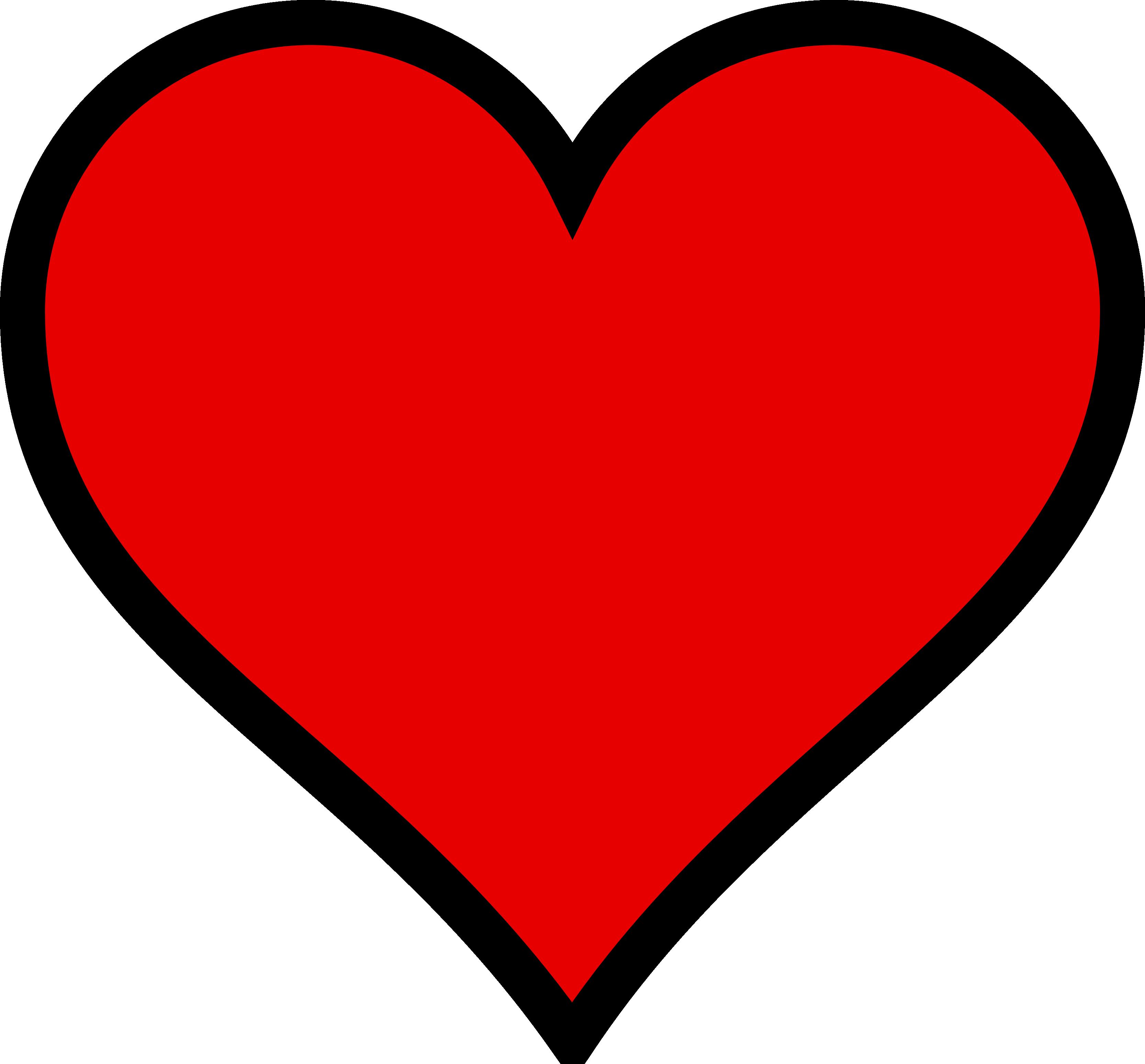 Red Heart Clip Art ClipArt Best - Heart HD PNG