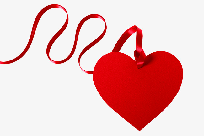 HD hanging heart, Red, Ribbon, Decoration PNG Image and Clipart - Heart Jpg PNG HD