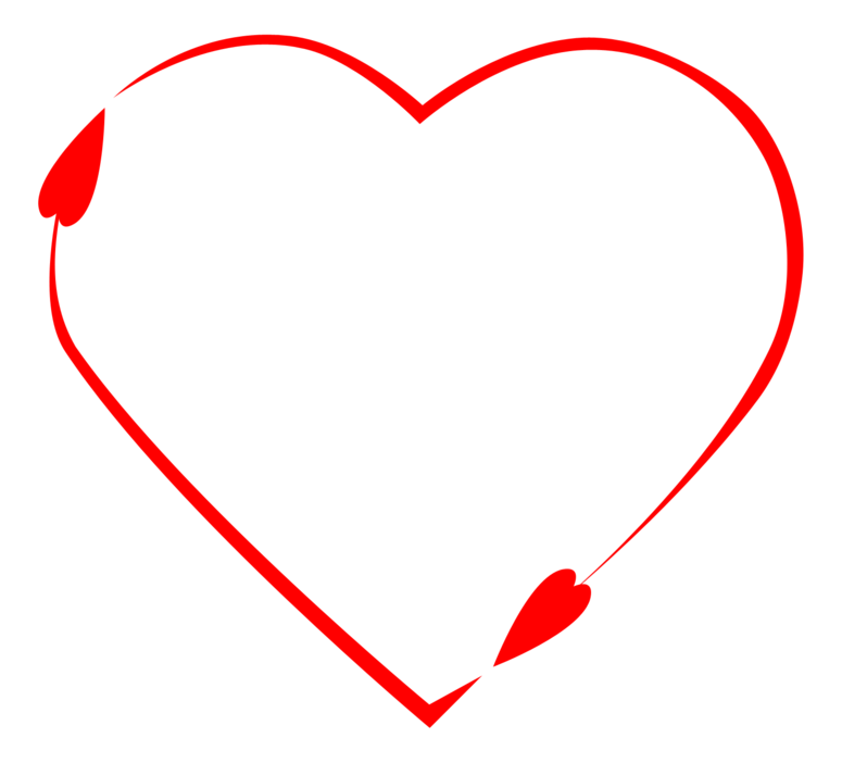 Vector Heart to Heart, Hd, Ve