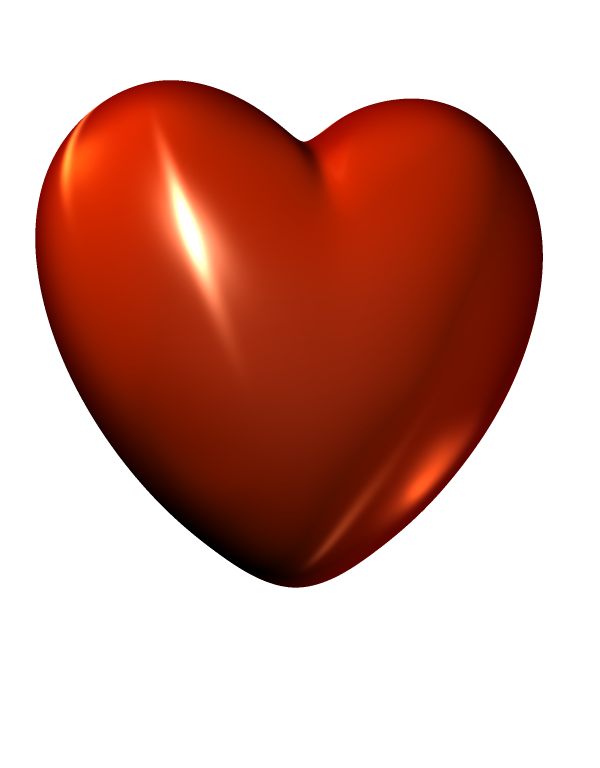 3D Red Heart PNG File - Heart PNG HD
