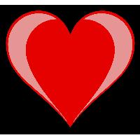 Heart PNG HD  - 124398
