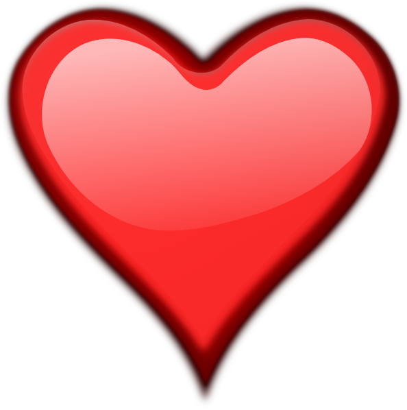 Heart PNG HD  - 124407