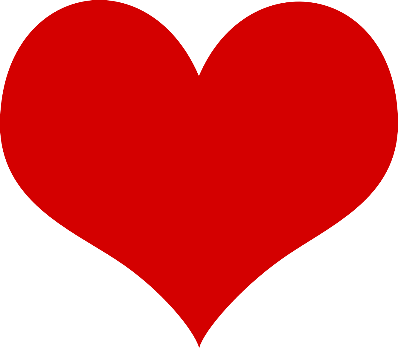 Red heart PNG image, free download - Heart PNG