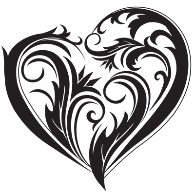 Heart Tattoos PNG-PlusPNG.com-400 - Heart Tattoos PNG
