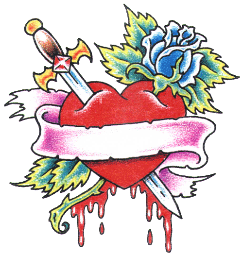 Heart Tattoos Free Png Image PNG Image - Heart Tattoos PNG