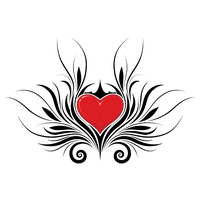 Heart Tattoos Png Hd PNG Image - Heart Tattoos PNG