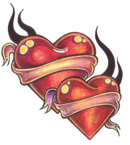 Heart Tattoos Png Pic PNG Image - Heart Tattoos PNG