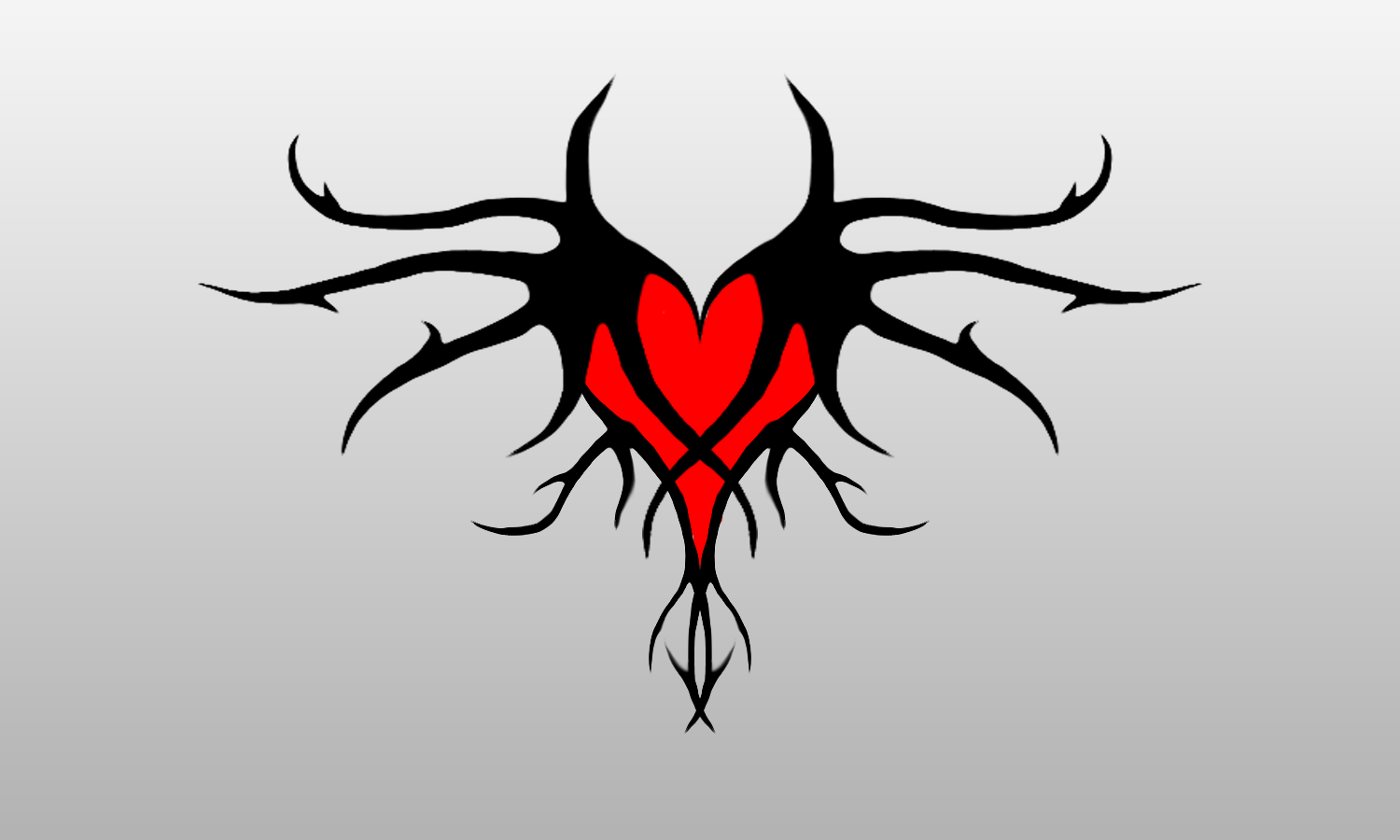 Image - Twisted heart tattoo design by d3xmorph-d4psqfn.png | Tattoos . - Heart Tattoos PNG