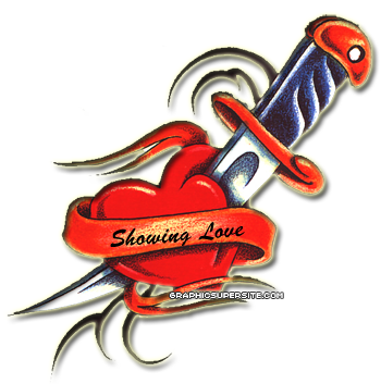 PNG File Name: Love Heart Tattoo PNG - Heart Tattoos PNG