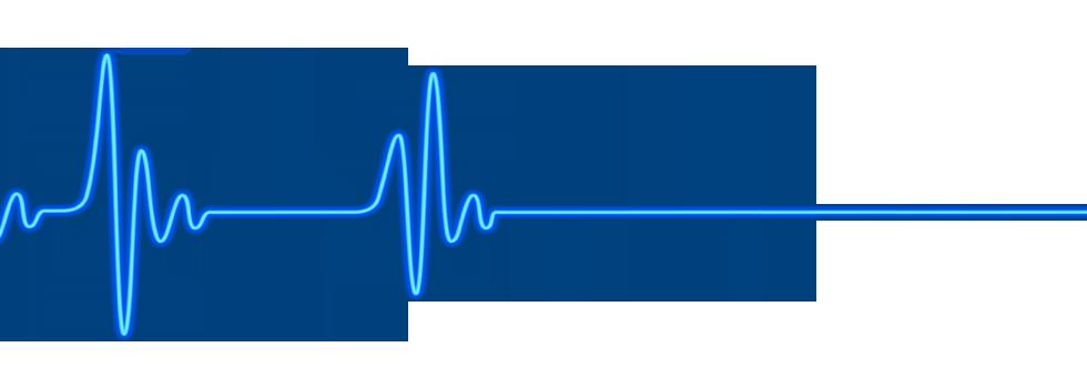 Clip Art Heart Beat Lines Clipart - Heartbeat PNG HD
