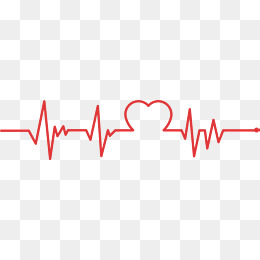 Heartbeat line, Public Welfare, Red Love, Heartbeat Line PNG and Vector - Heartbeat PNG HD
