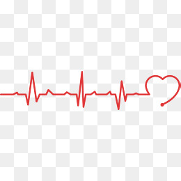 Public welfare heartbeat line, Public Welfare, Red Love, Electrocardiogram  PNG and Vector - Heartbeat PNG HD