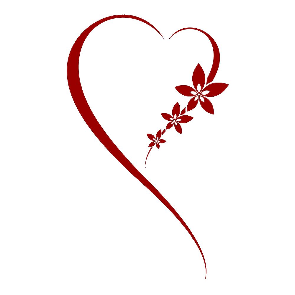 . PlusPng.com Heart Tattoo Transparent 8 86b15941b430aec754239521d1df53e5.png PlusPng.com  - Hearts PNG HD