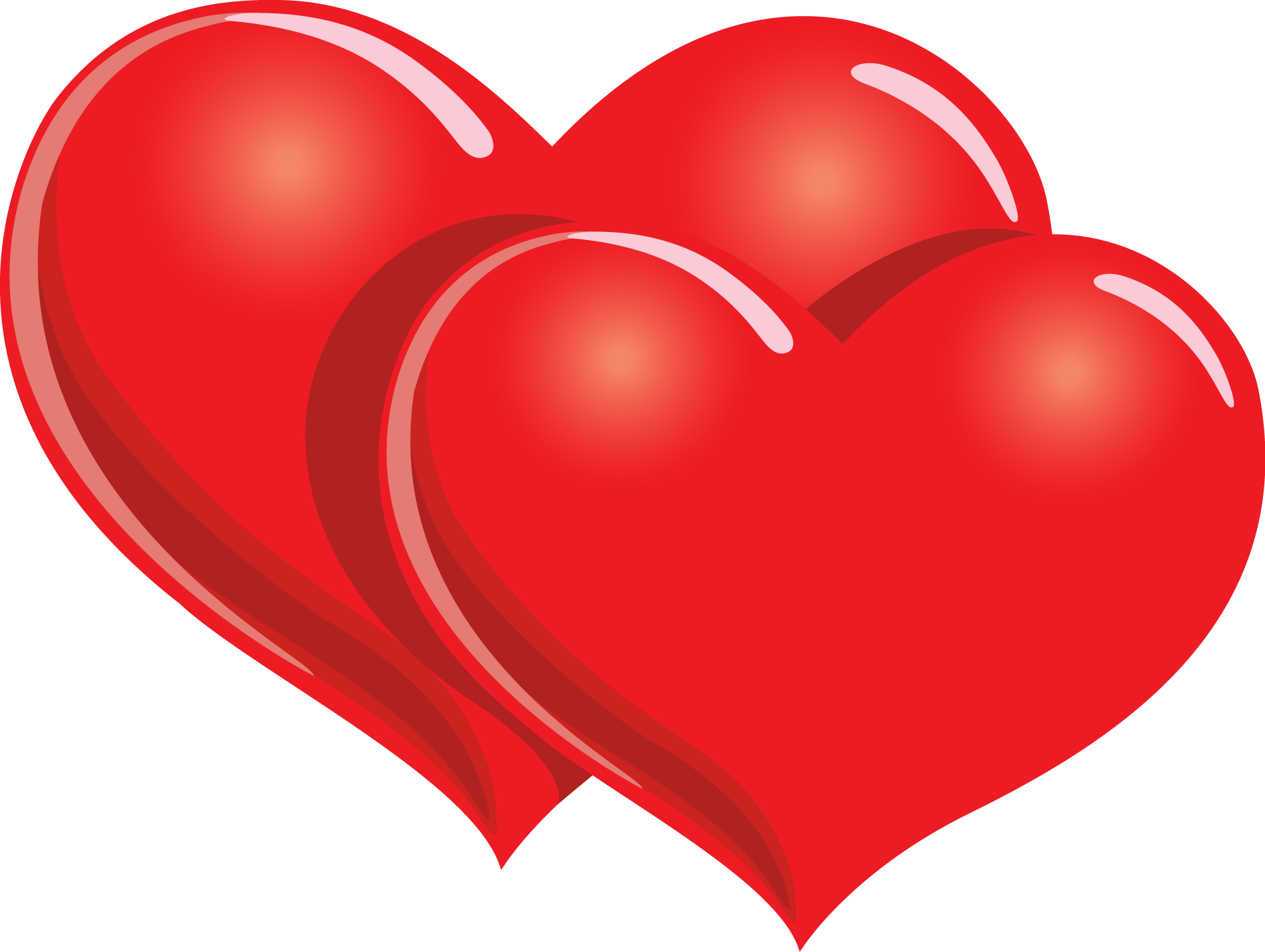 Hearts PNG HD - 138944