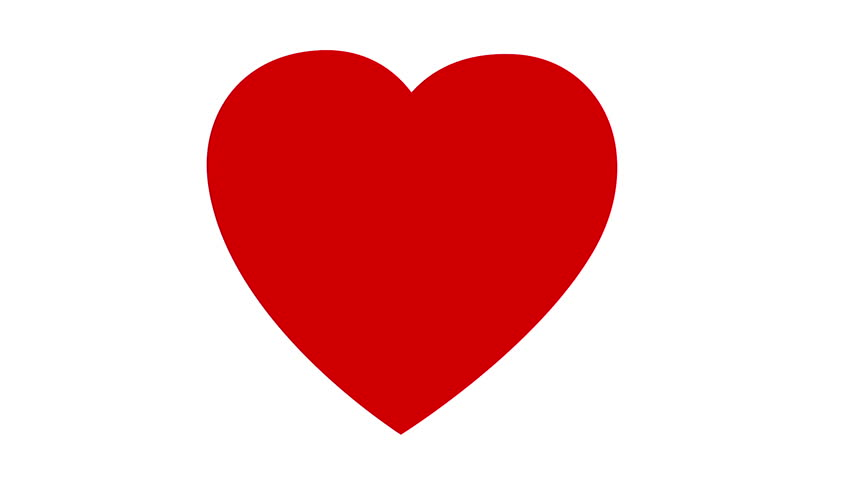 Love - Beating Heart - Seamless Loop - HD Stock Footage Clip - Hearts PNG HD