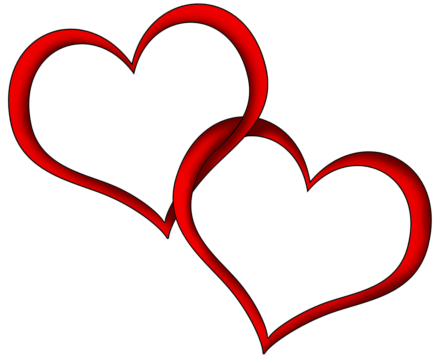 Valentine Heart clipart - Hearts PNG HD