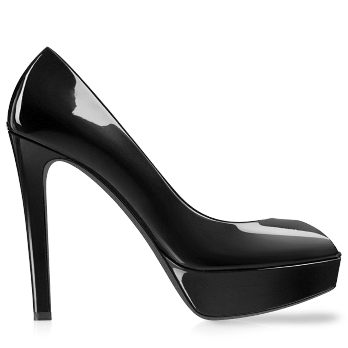 Black Heel Women Shoe - Heels PNG